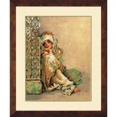 Набор для вышивания Arabian Woman  LANARTE (арт.34680)