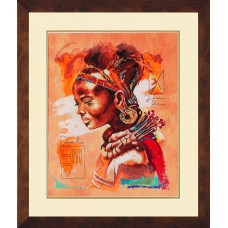 Набор для вышивания African Woman  LANARTE (арт.34758)