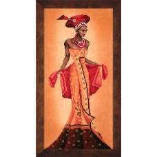 Набор для вышивания African Fashion - I  LANARTE (арт.35019)