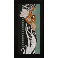 Набор для вышивания African Lady with Flowers   LANARTE (арт.35135)