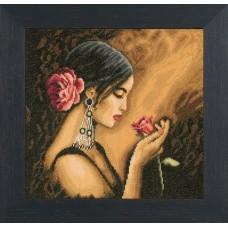 Набор для вышивания Spanish Beauty  LANARTE (арт.38013A)