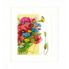 Набор для вышивания Poppies  LANARTE