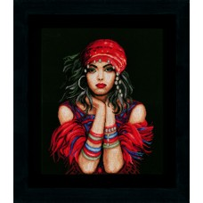 Набор для вышивания Gypsy girl  LANARTE