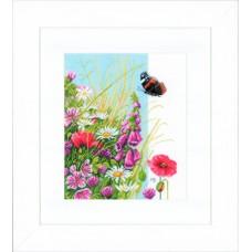 Набор для вышивания Wild flowers  LANARTE
