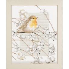 Набор для вышивания Robin - Marjolein Bastin  LANARTE (арт.34941)