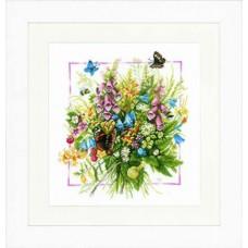 Набор для вышивания Summer bouquet  LANARTE