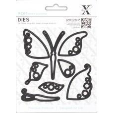 Набор ножей для вырубки Бабочки