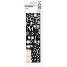 Набор ножей для вырубки Алфавит Slimline
