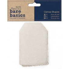 Набор декоративных элементов из ткани Бирка