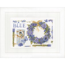 Набор для вышивания Lavender Wreath LANARTE