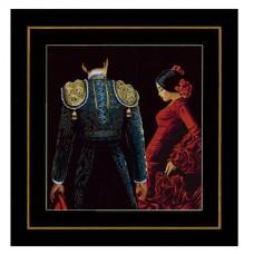 Набор для вышивания Dancing passion LANARTE