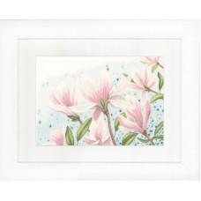 Набор для вышивания  Magnolias LANARTE