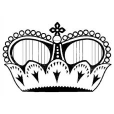 Штамп силиконовый Корона