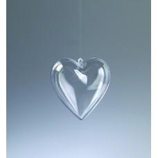 Заготовка объемная Сердце, 80 мм