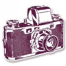 Штамп из пенорезины для оттисков Камера,12,5 х 9,5 см