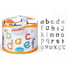 Набор детских штампиков из пенорезины Алфавит