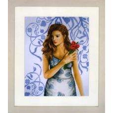 Набор для вышивания Lady in blueLANARTE , 35027