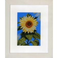 Набор для вышивания Sunflower on Blue LANARTE , 35045
