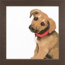 Набор для вышивания Adorable puppy LANARTE, 35081
