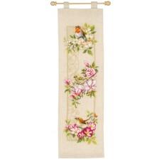 Набор для вышивания Птицы и цветы
