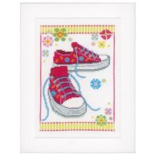Набор для вышивания Розовые кроссовки