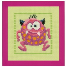 Набор для вышивания Розовый Монстр II