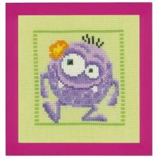 Набор для вышивания Фиолетовый Монстр