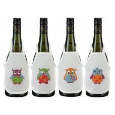 Набор для вышивания Совы, фарточки на бутылки