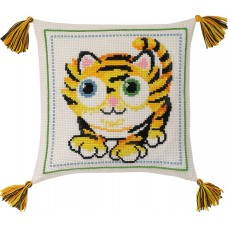 Набор для вышивания Тигр, подушка