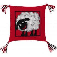 Набор для вышивания Овечка, подушка