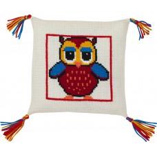 Набор для вышивания Сова, подушка