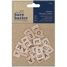 Набор декоративных элементов Деревянные буквы