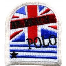 Термоаппликация HKM Флаг пляжного поло, 1 шт