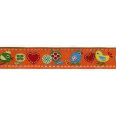 Лента с рисунком  жаккард,15 мм, 15 м, цвет 3