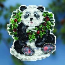 Набор для вышивания Рождественская панда