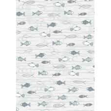 Бумага Рыбки, А4, 200 г