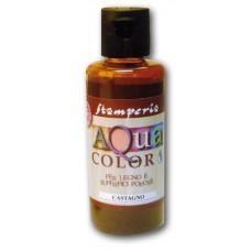 Краска на водной основе Aquacolor, каштановый