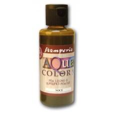 Краска на водной основе Aquacolor, красновато-коричневый
