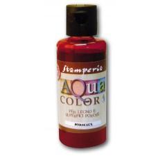 Краска на водной основе Aquacolor, вишнёвый