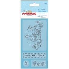 Штамп прозрачный Пение Pippinwood Christmas