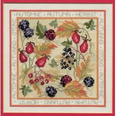Набор для вышивания Four Seasons: Autumn