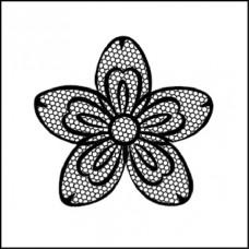 Штамп силиконовый Цветок