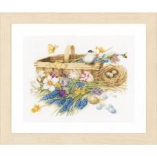 Набор для вышивания Spring Flowers  LANARTE