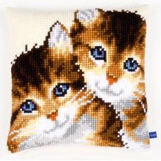 Подушка Котята набор для вышивания