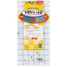 Линейка для пэчворка Frosted, градация в дюймах 6 х 12
