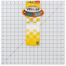 Линейка для пэчворка Frosted, градация в дюймах, квадрат 16 х 16