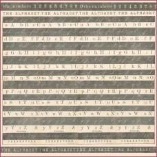 Салфетка рисовая с контуром Алфавит