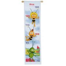 Ростомер набор для вышивания Пчелка Майя и друзья