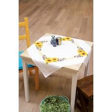 Скатерть Подсолнухи набор для вышивания