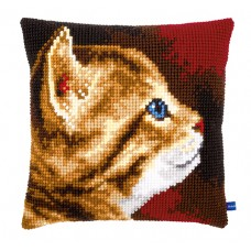 Подушка  Котенок I набор для вышивания